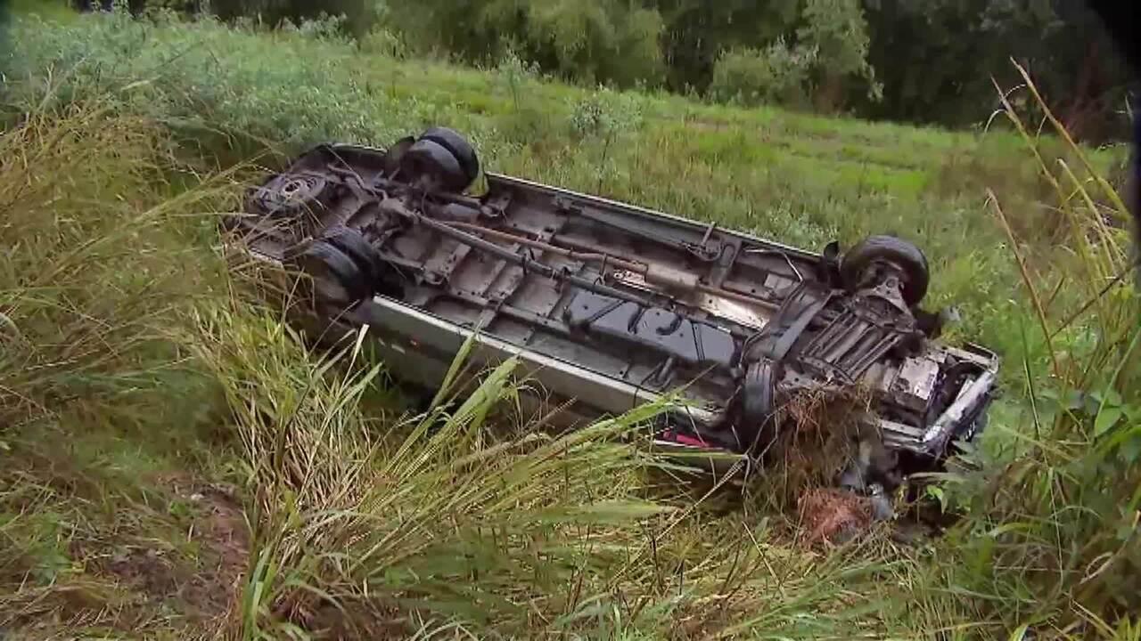 Confira o acidente entre a van e o carro na BR-040 e outras ocorrências da região nesta sexta (12)