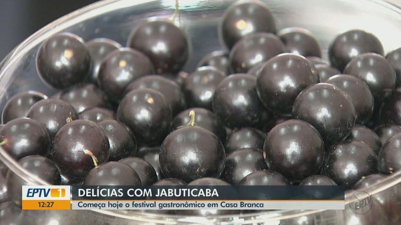 Casa Branca tem o segundo festival gastronômico da Jabuticaba