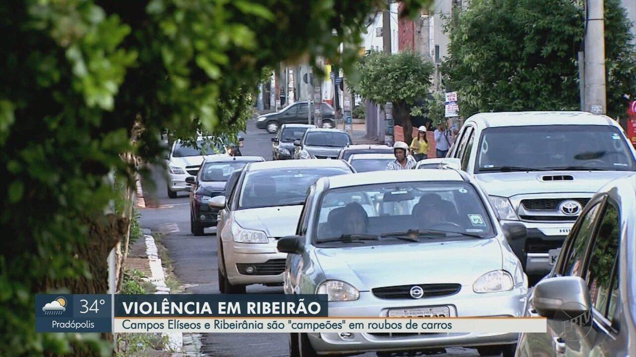 Moradores reclamam do número de roubos e furtos de veículos em Ribeirão Preto, SP