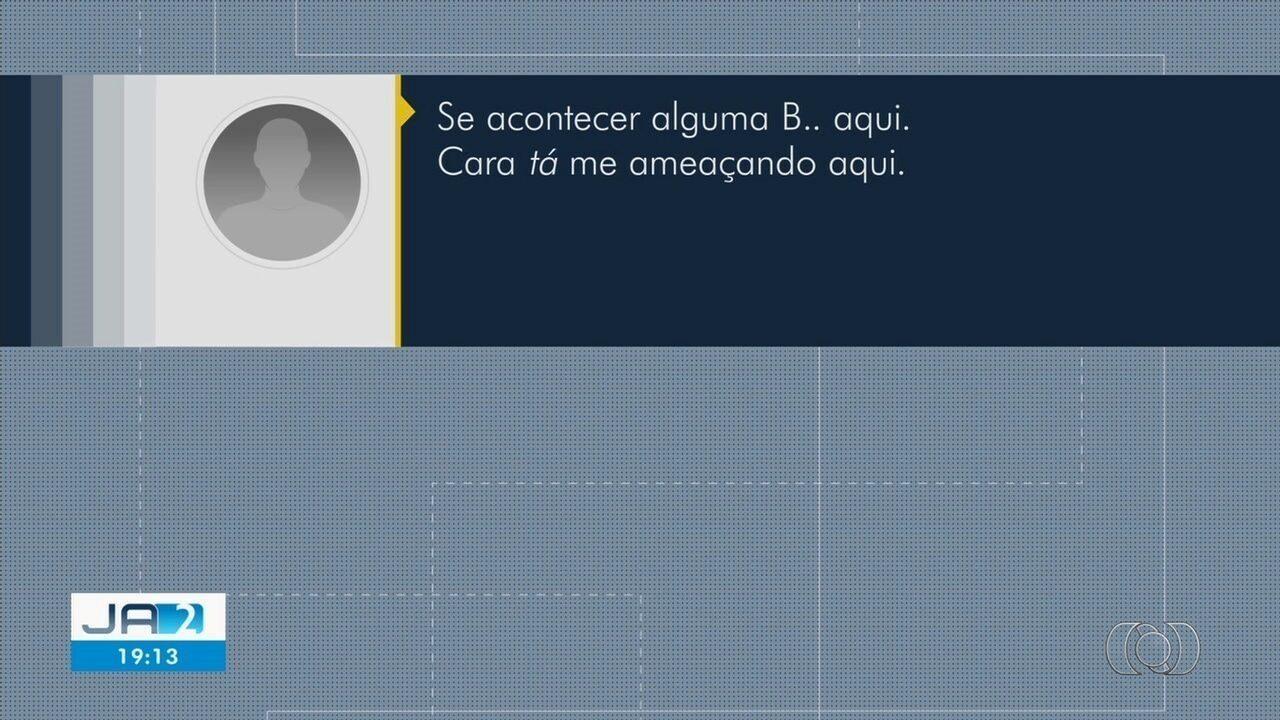 Áudio mostra mensagem de porteiro minutos antes de ser morto por colega em Itumbiara