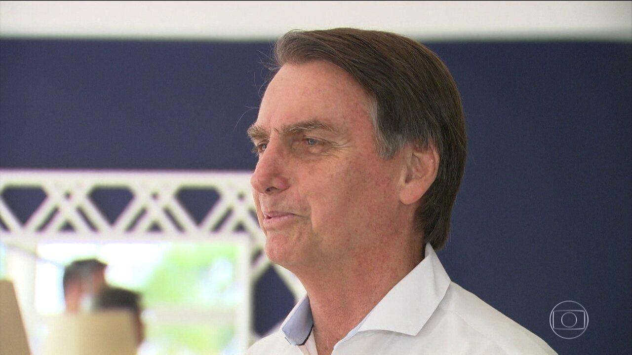 Jair Bolsonaro, candidato do PSL, passa o dia no Rio de Janeiro