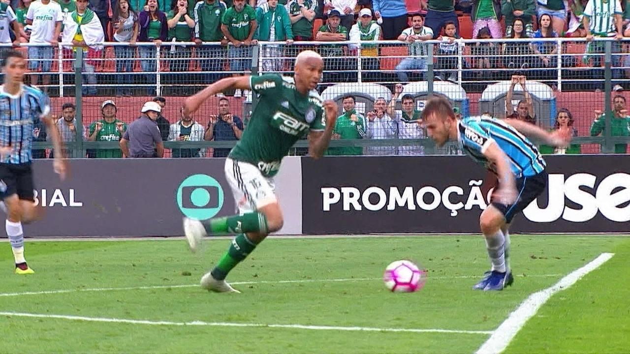 Melhores momentos: Palmeiras 2 x 0 Grêmio pela 29ª rodada do Brasileirão 2018