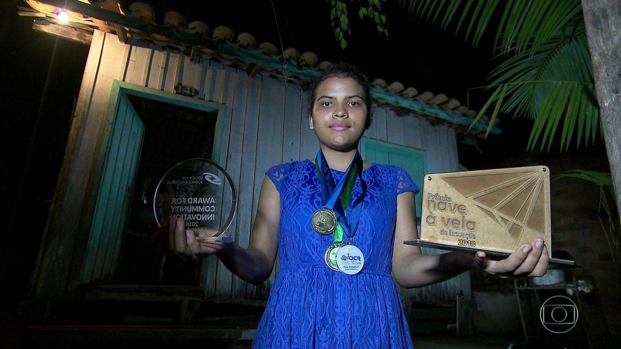 Estudante de escola pública do Pará ganha prêmios de ciência e viagem aos EUA