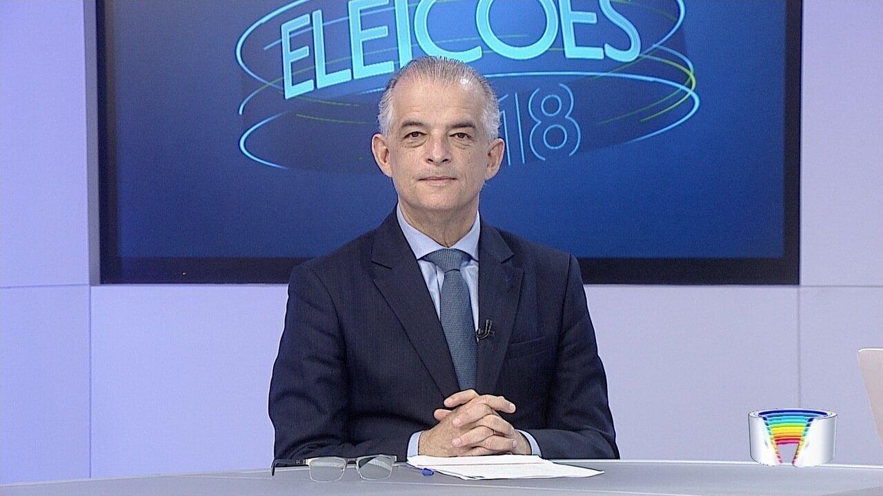 Candidato ao governo de SP, Márcio França, é entrevistado no Link Vanguarda