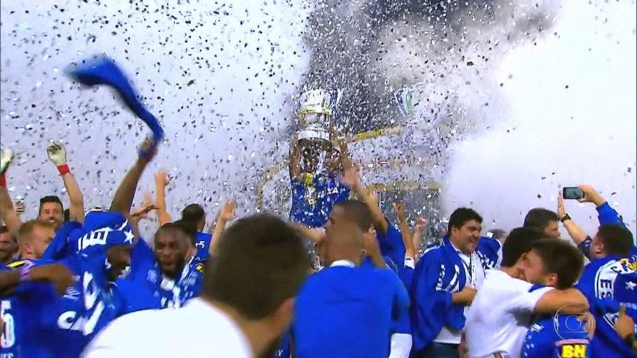 Teve de tudo! Com muita emoção o Cruzeiro se consagra hexacampeão da Copa do Brasil