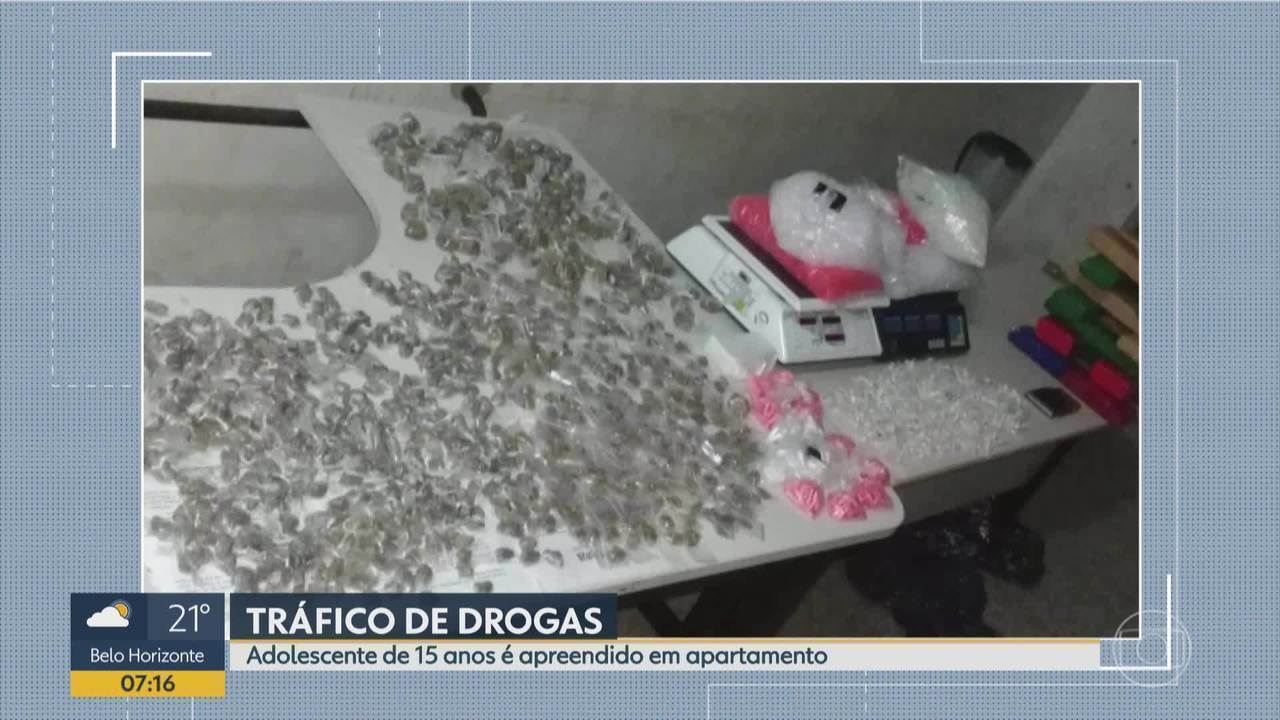 PM apreende drogas prontas para venda em Ribeirão das Neves, na Grande BH