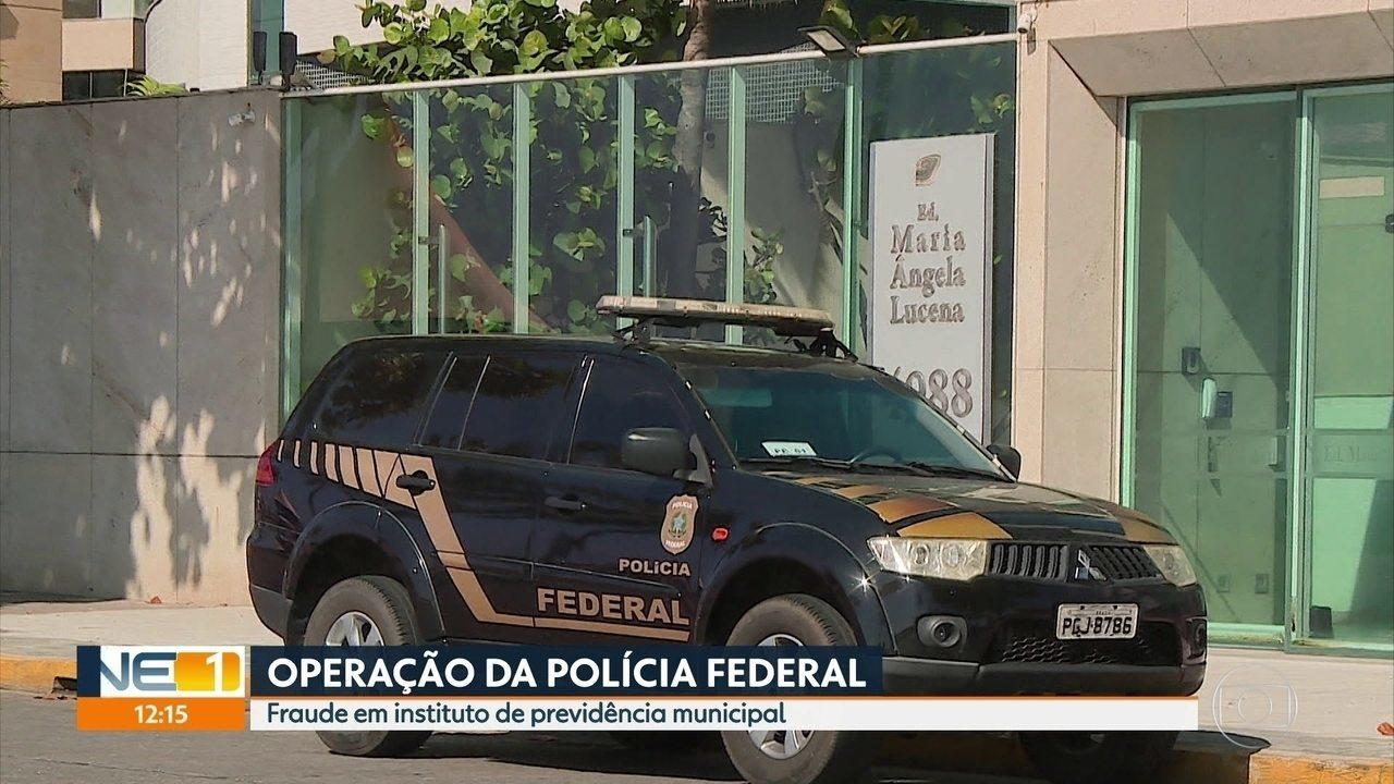 PF faz operação contra fraudes em instituto de previdência de servidores municipais