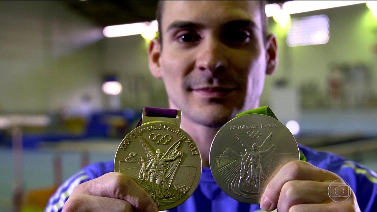 Veterano aos 28 anos, Arthur Zanetti desafia o tempo atrás de terceira medalha olímpica