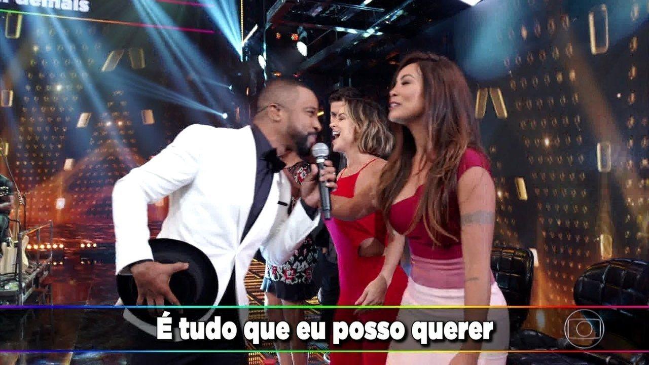 Alexandre Pires canta
