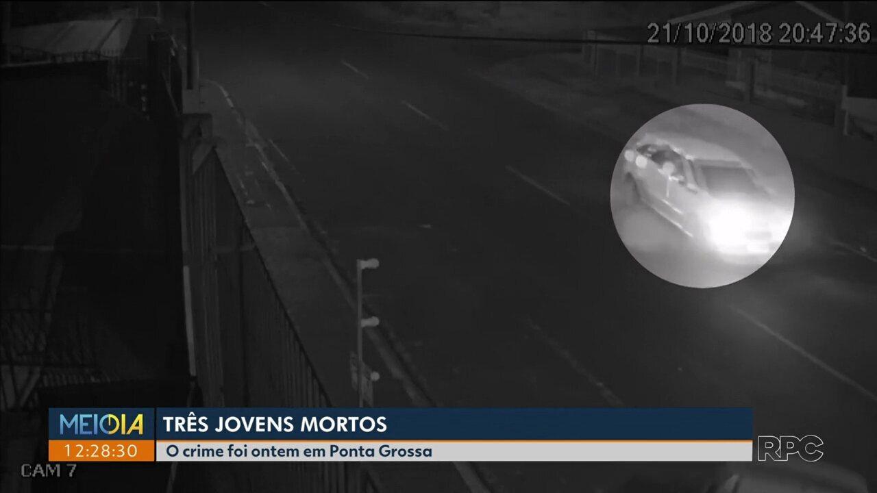 Três rapazes são mortos a tiros no bairro Uvaranas, em Ponta Grossa