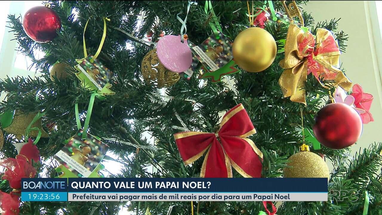 Prefeitura vai pagar mais de mil reais por dia pra Papai Noel no Natal