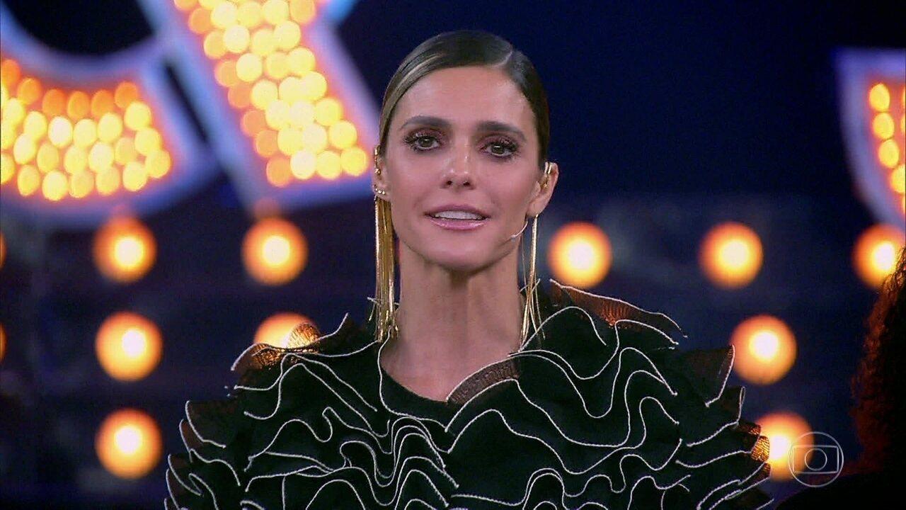 Fernanda Lima se emociona ao mandar recado importante para todas as famílias