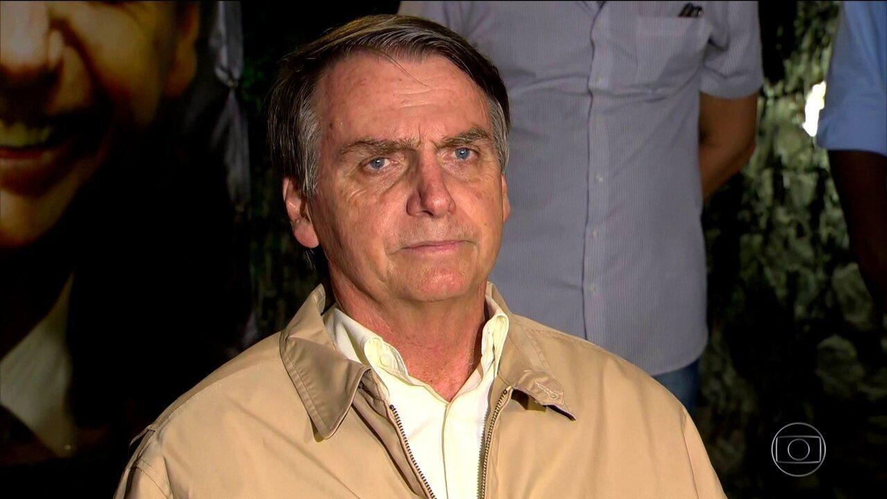 Candidato do PSL, Jair Bolsonaro passa o dia no Rio e recebe empresários do agronegócio