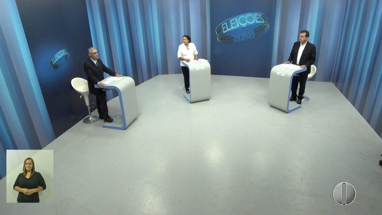 Debate dos candidatos ao governo do RN: 2º turno - Bloco 1