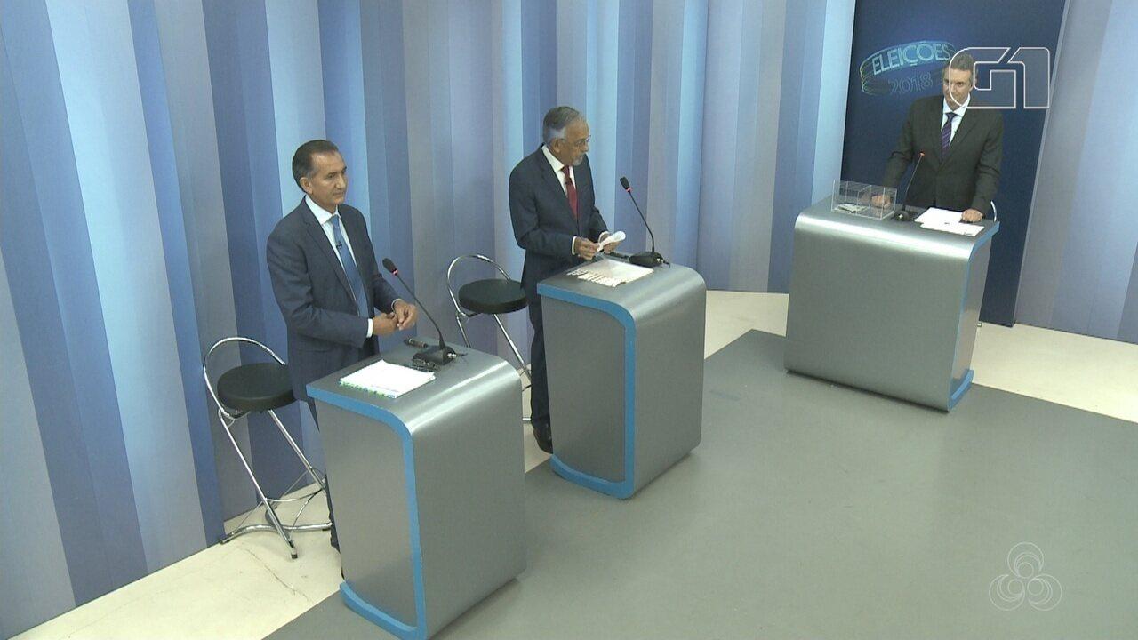 Debate do 2º turno para governador do Amapá - bloco 1