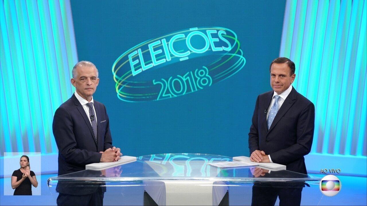 Debate para governador de São Paulo - 2° turno