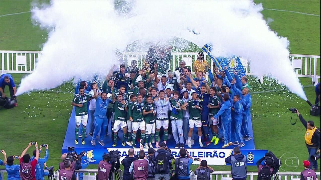 Palmeiras é campeão brasileiro sub-20