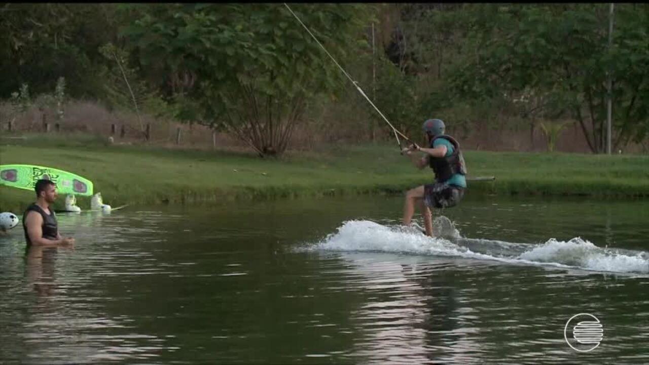 Hugo relembra início da carreira e crescimento no wakeboard; veja