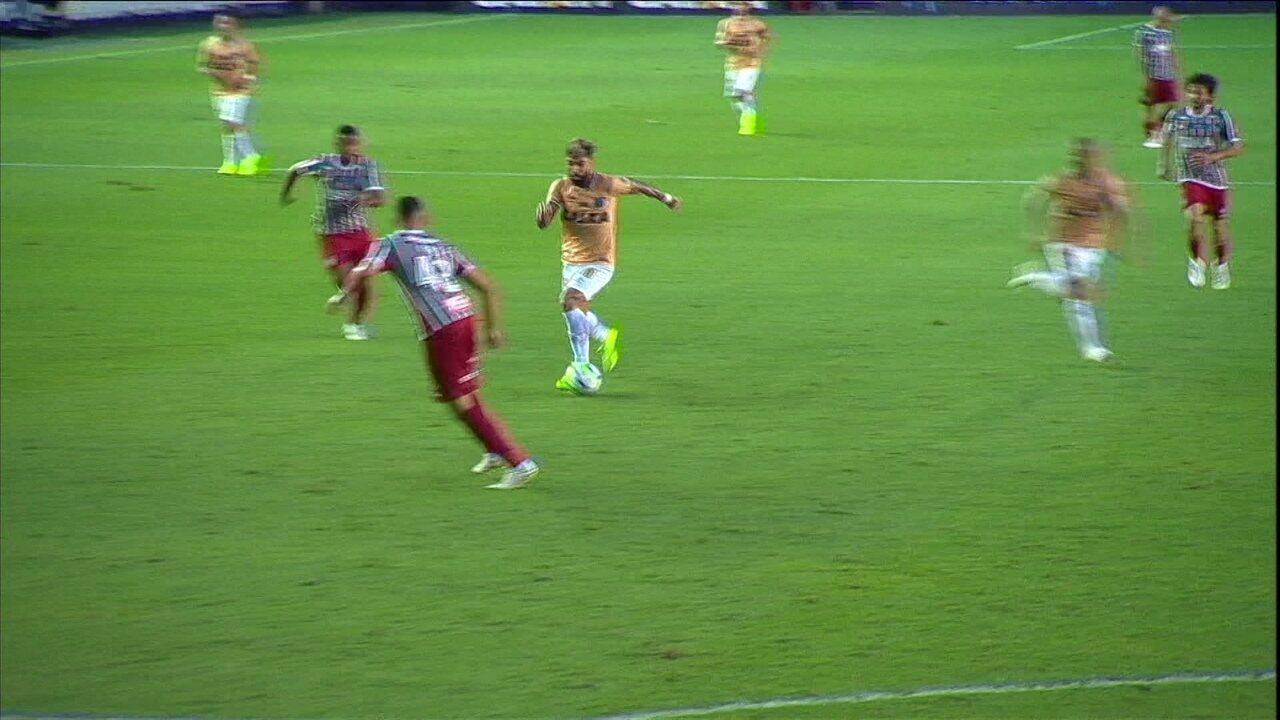 2daa3a8efe603 Veja os gols de Santos 3x0 Fluminense