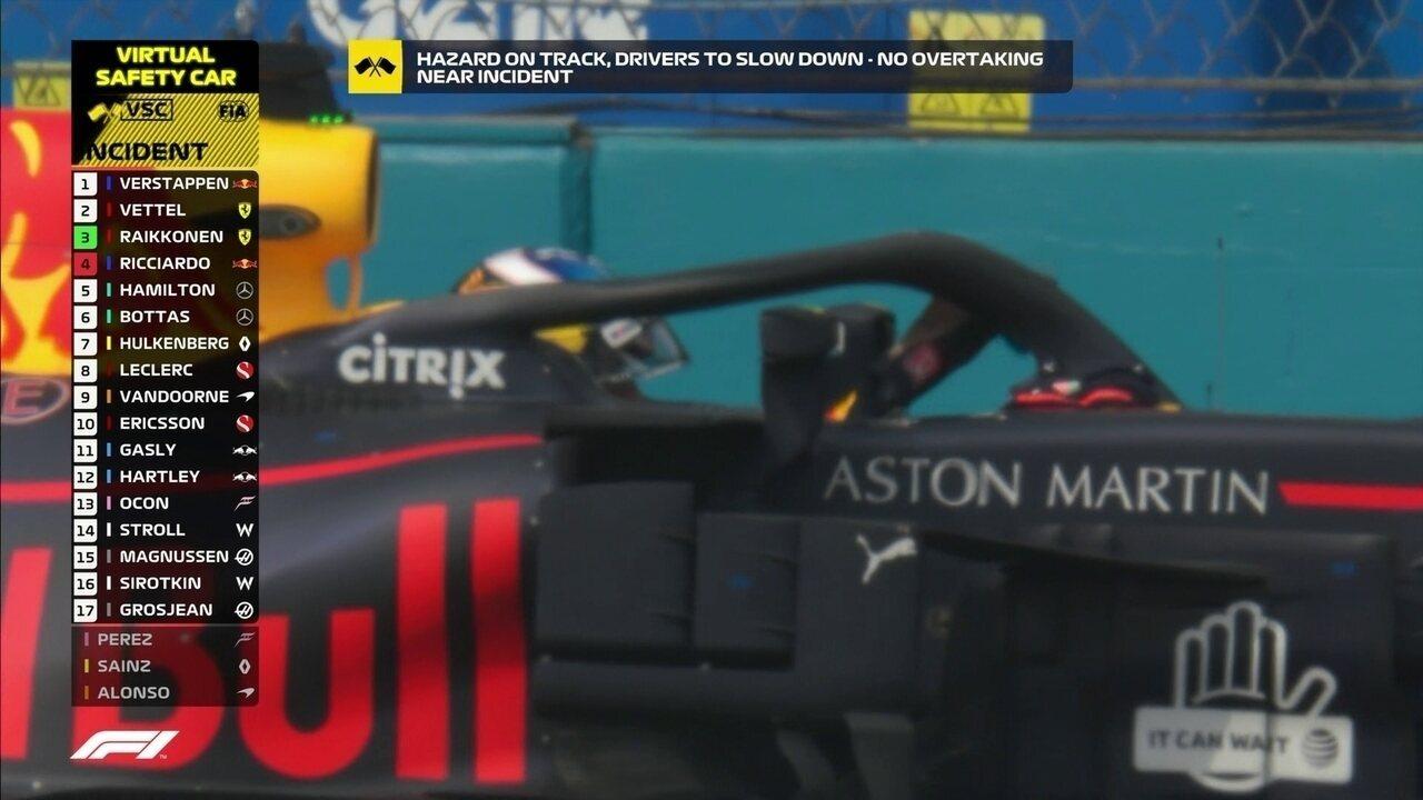 Motor não aguenta e Ricciardo abandona o GP do México