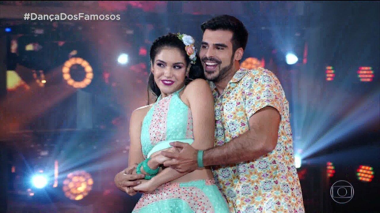 Relembre a trajetória de Anderson Tomazini e Juliana Acácio no 'Dança dos Famosos'