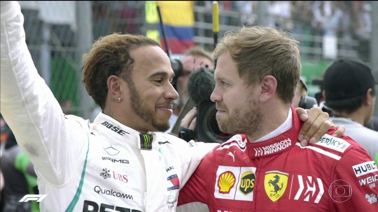 Hamilton garante título da Fórmula 1 no GP do México