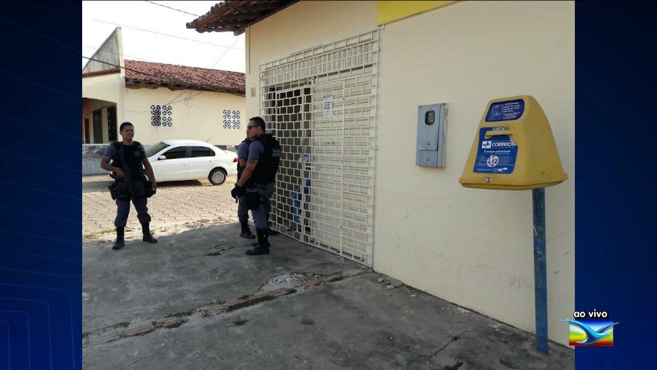 Bandidos assaltam agências dos Correios de Presidente Médice