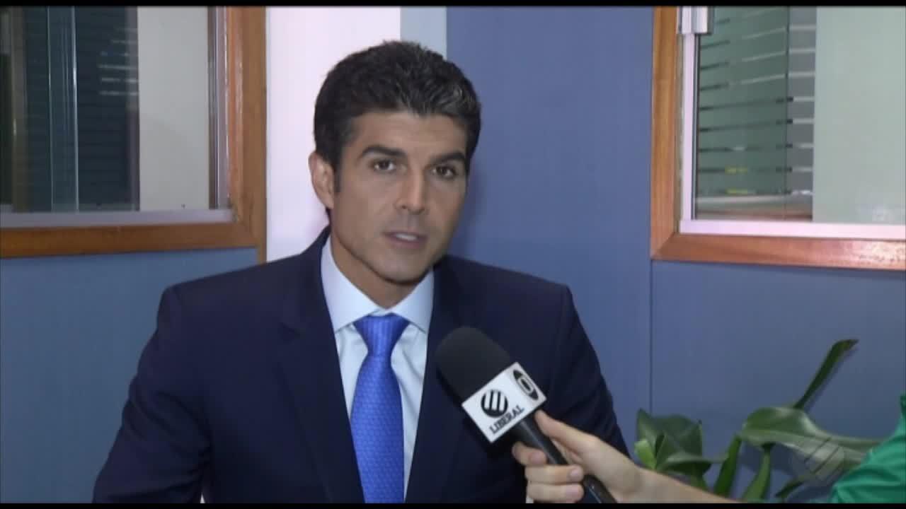 Governador eleito Helder Barbalho fala do planejamento para o esporte paraense para a TV Liberal