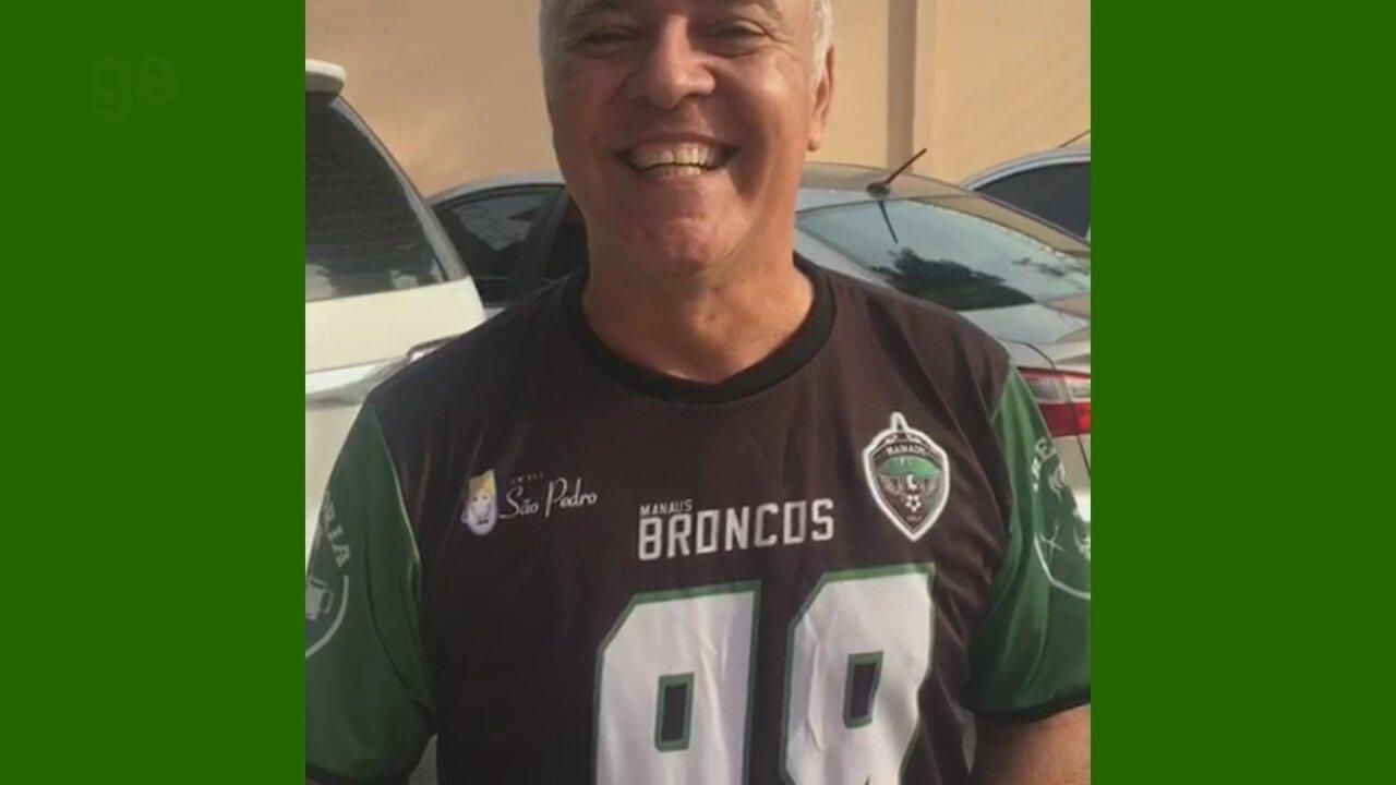Presidente do Manaus convoca jogadores de futebol americano para seletiva do Broncos