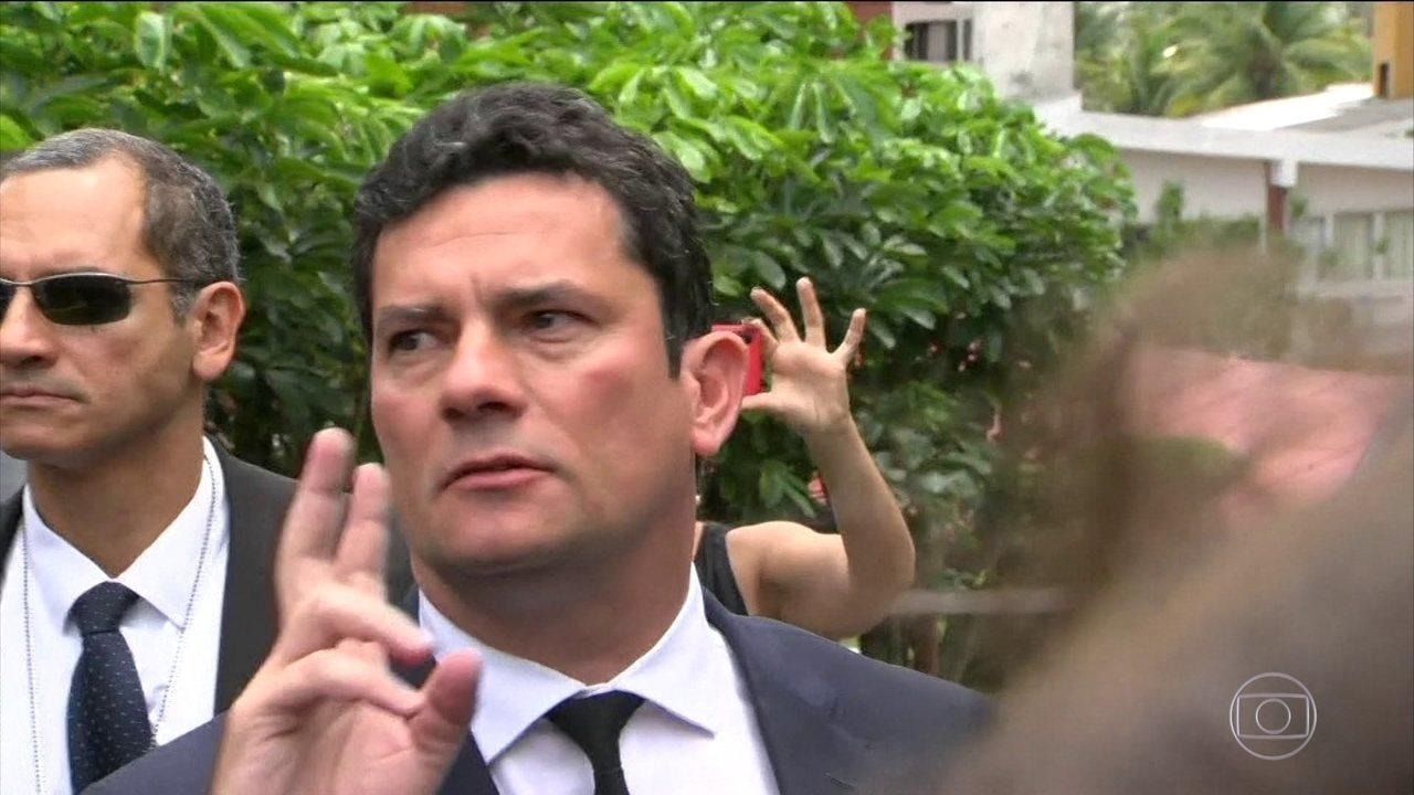 Sérgio Moro será o ministro da Justiça e Segurança Pública no governo de Bolsonaro