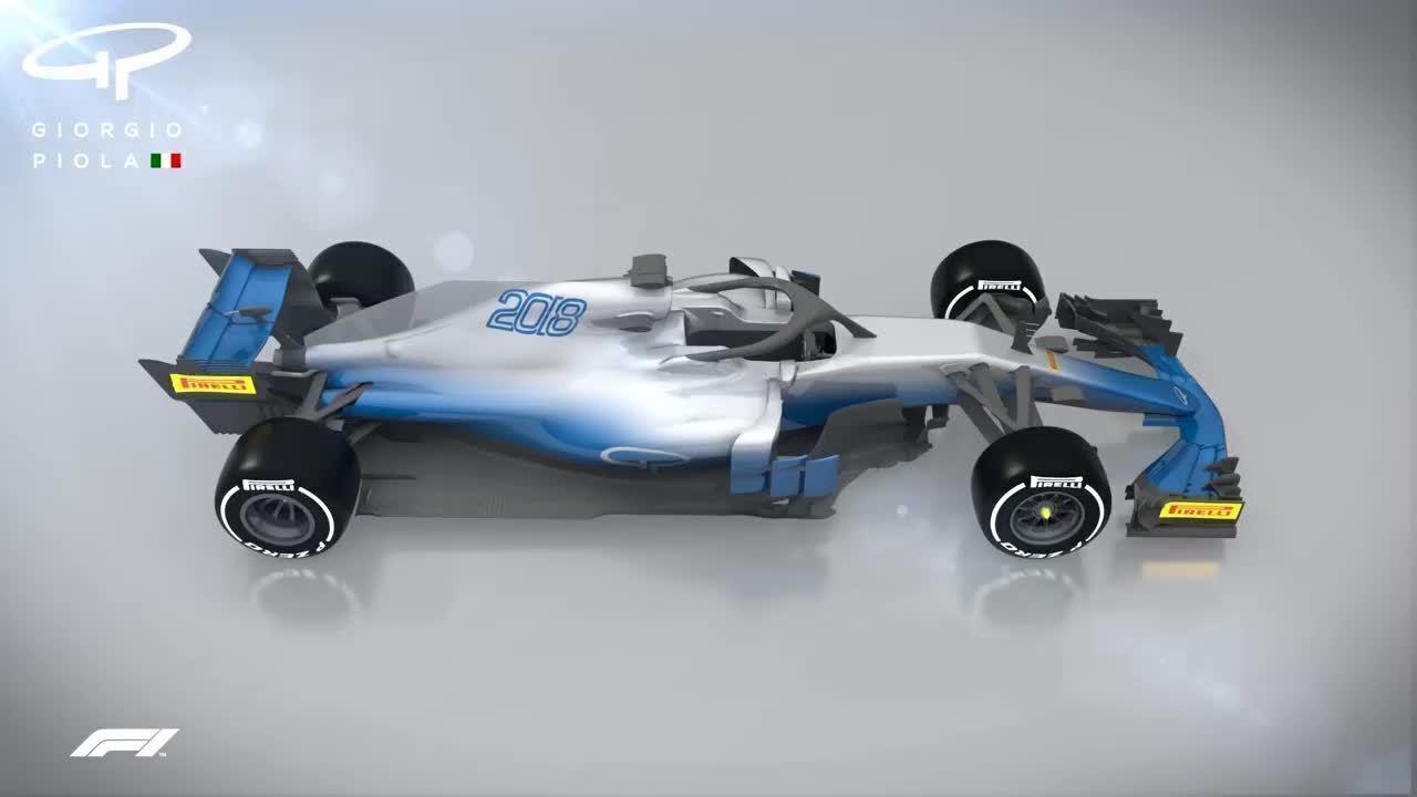 Comparativo da aerodinâmica dos carros da F1 em 2018 e 2019