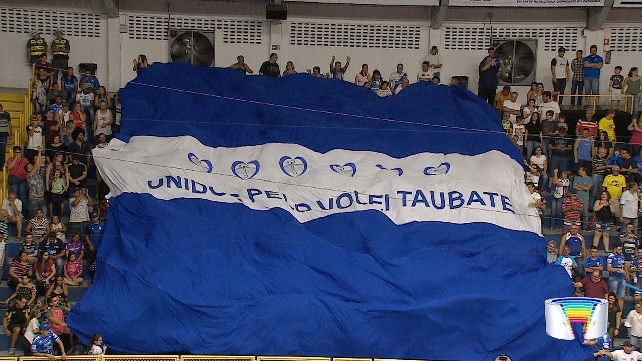 Vôlei Taubaté vence Corinthians e mantém 100% de aproveitamento na Superliga