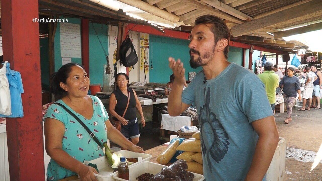 Parte 1: Moacyr começa tour por São Gabriel da Cachoeira
