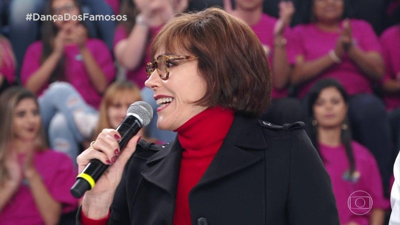 Cristiane Torloni avalia apresentação de Mariana Ferrão e Ricardo Espeschit