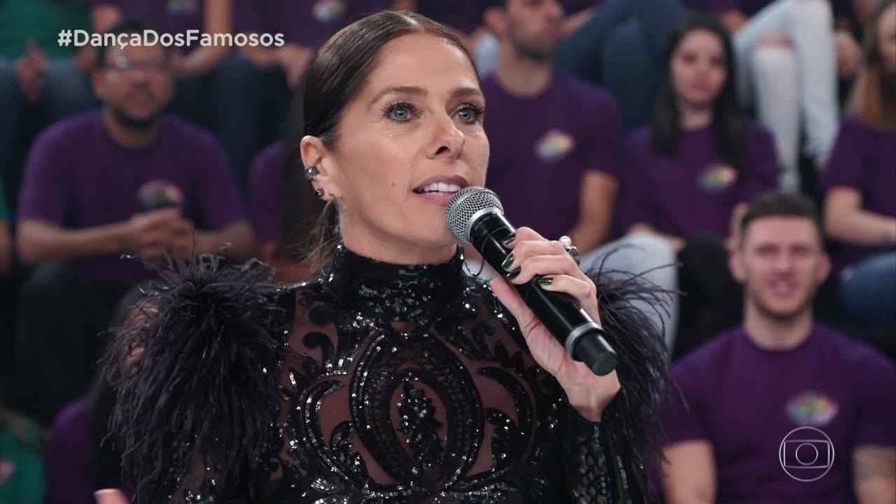 Jurados avaliam apresentação de Sérgio Malheiros e Suellem Morimoto