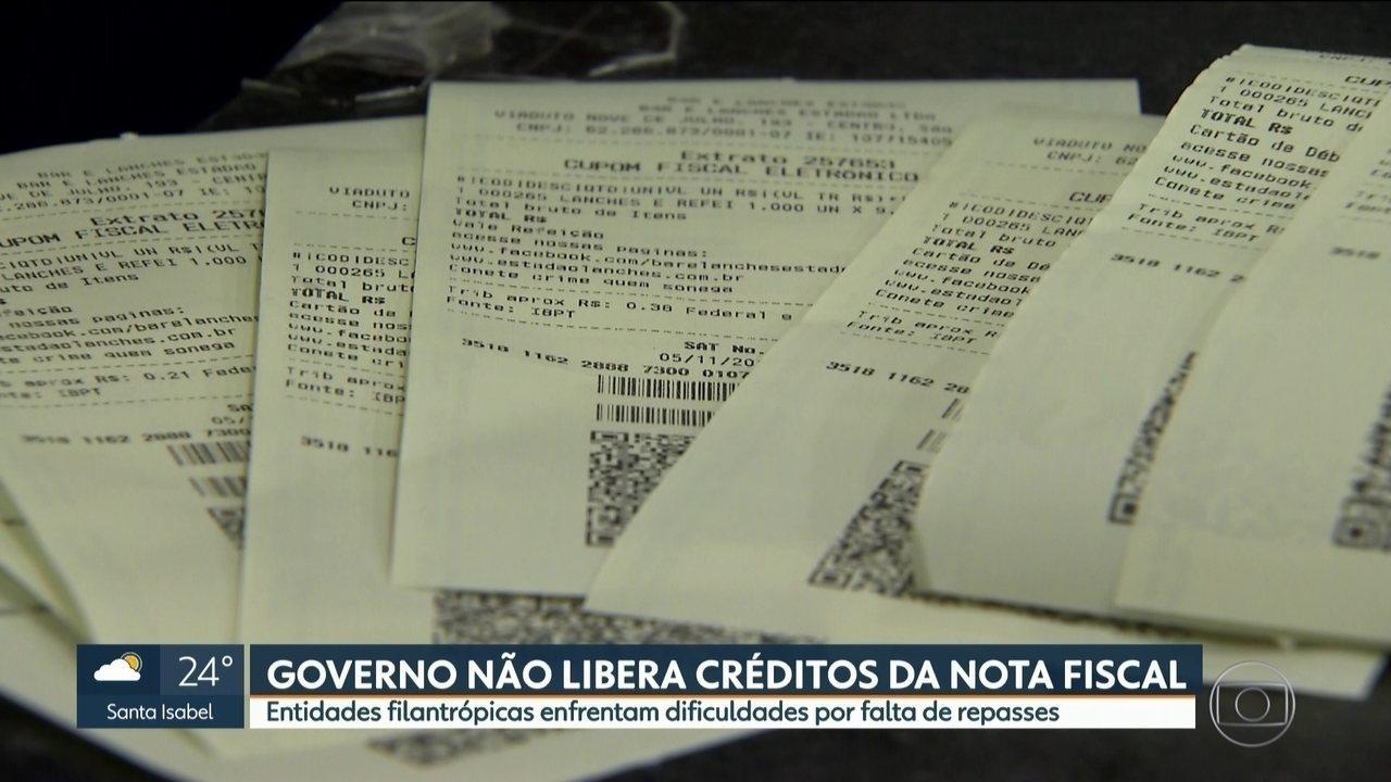 Entidades filantrópicas enfrentam dificuldades por falta de repasses da Nota Fiscal