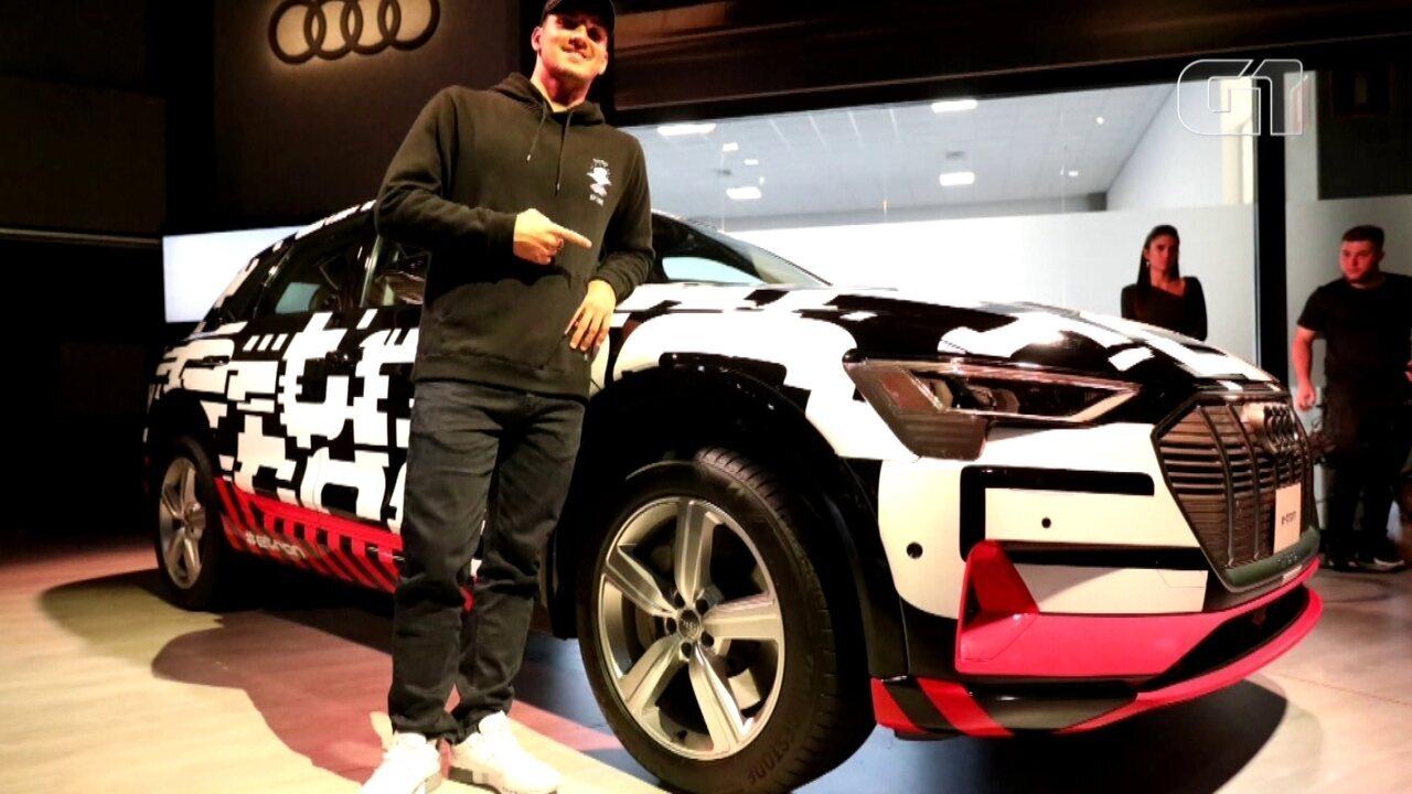 Salão do Automóvel em 2018: Elétrico da Audi é apresentado