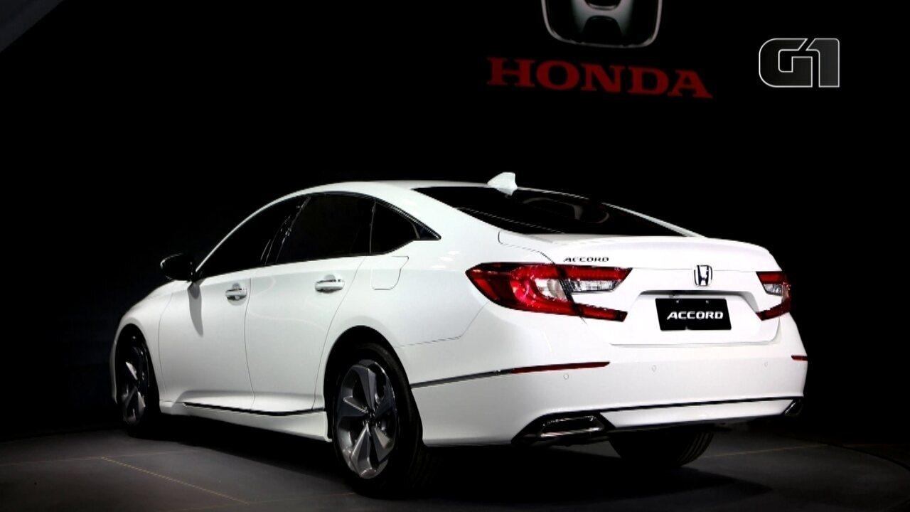 Salão do Automóvel 2018: Honda estreia a 10ª geração do Accord