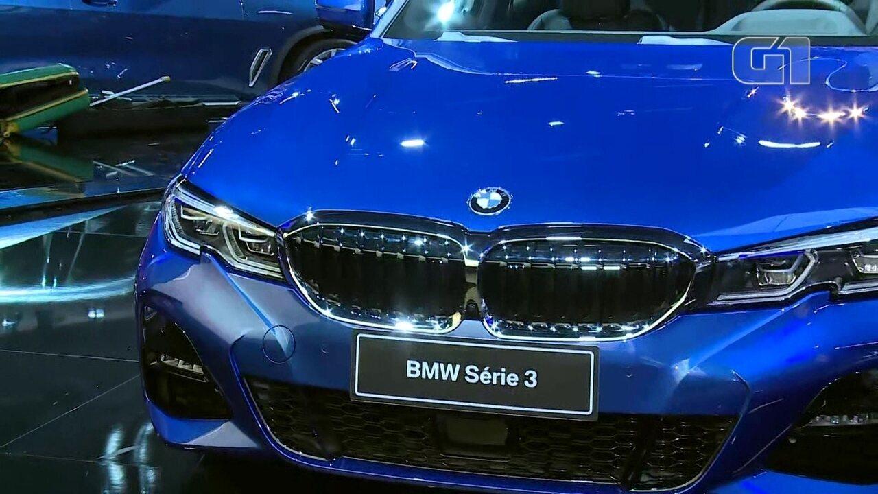 Salão do Automóvel: BMW traz a Série 3 para o Brasil