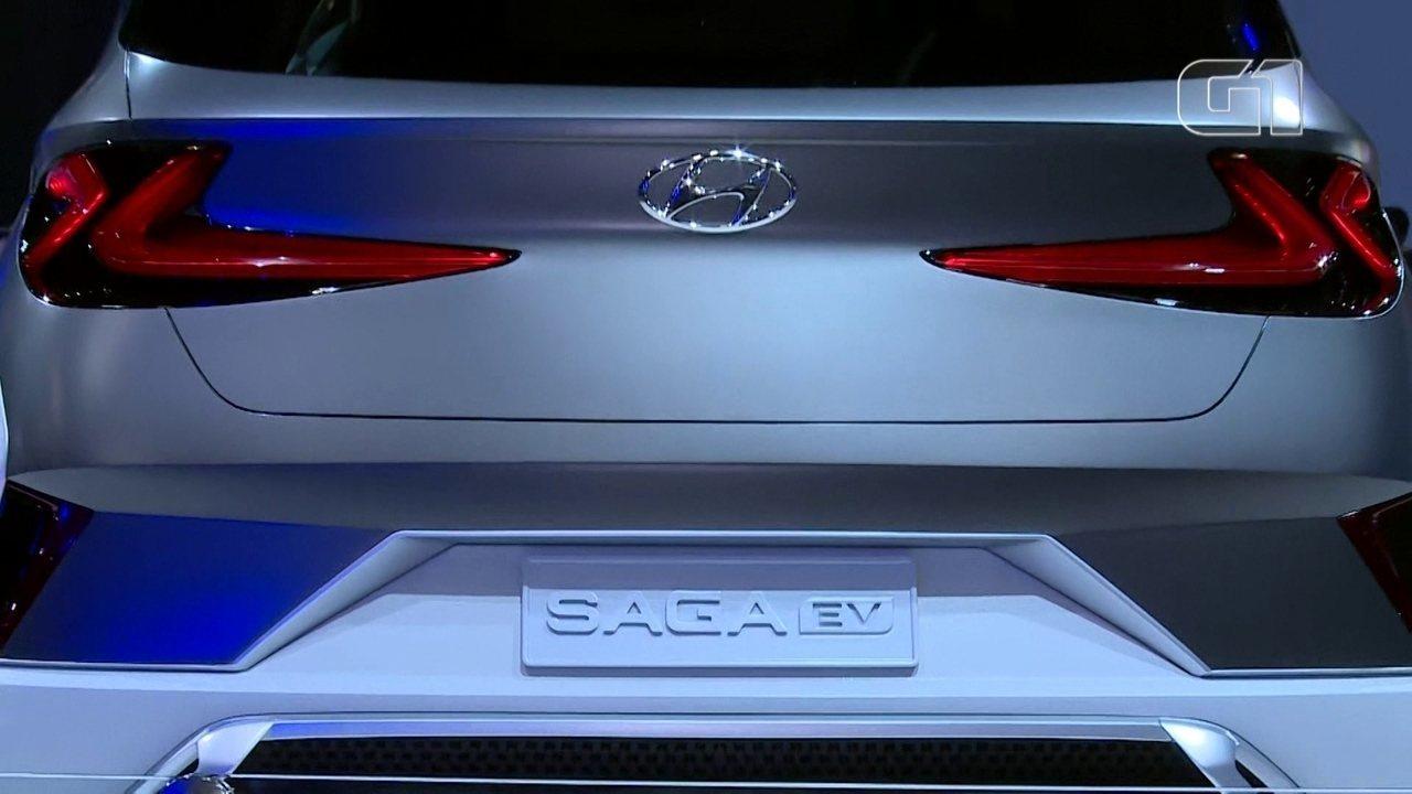 Salão do automóvel 2018: Hyundai destaca o conceito 'Saga'