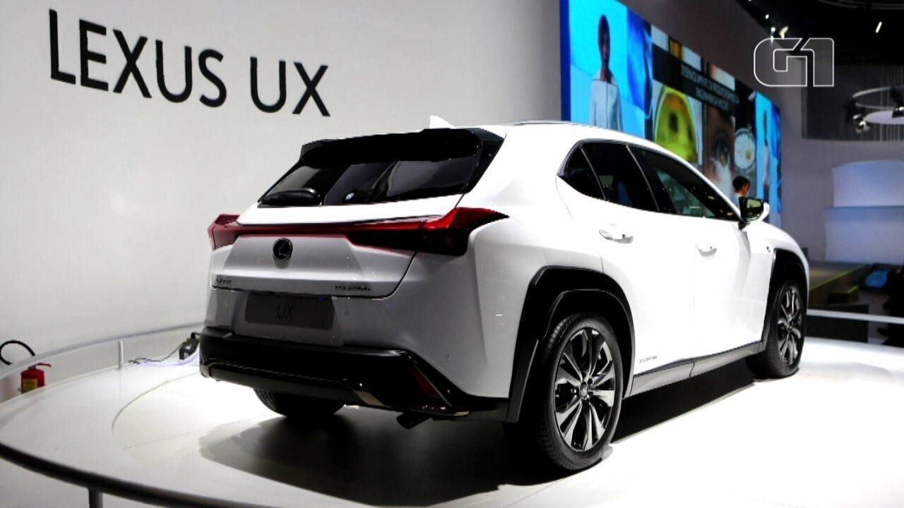 Salão do Automóvel 2018: Lexus traz ao salão seus modelos híbridos como o UX e o ES