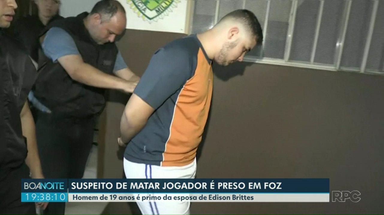 Suspeito de participar da morte do jogador Daniel é preso em Foz