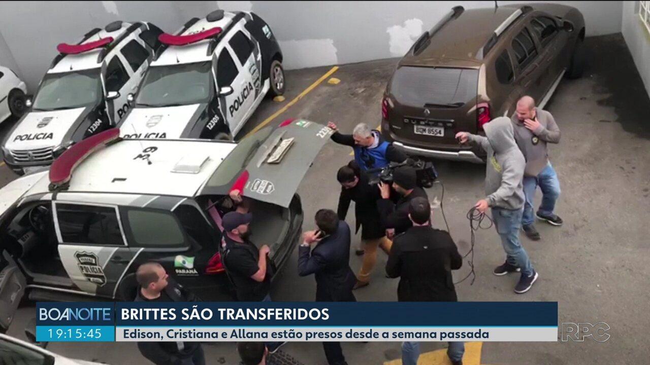 Família Brittes é transferida da delegacia de São José dos Pinhais