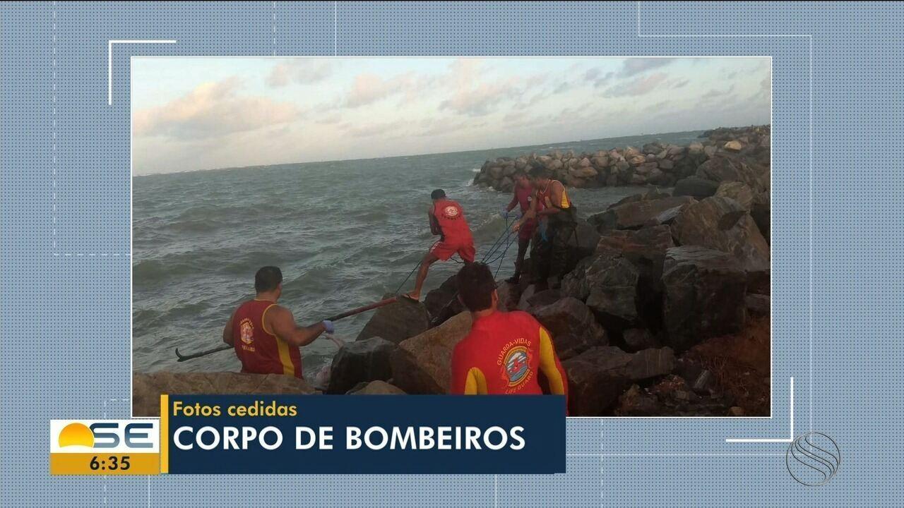 Bombeiros encontram corpo de pescador desaparecido em Aracaju