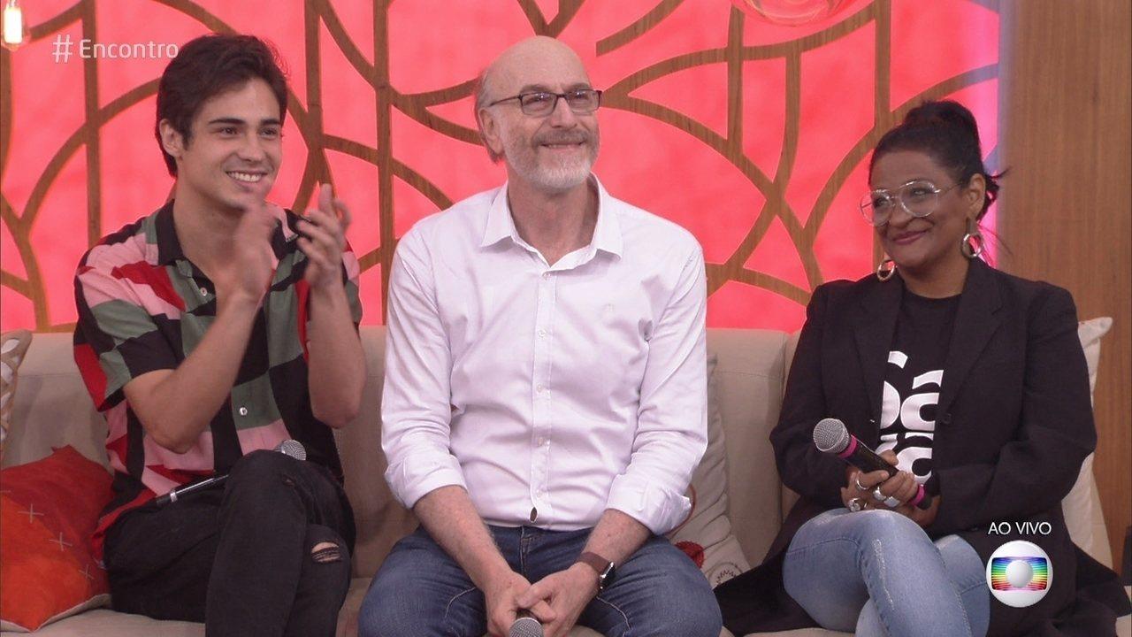 Odilon Wagner é só elogios para Danilo Mesquita e Claudia de Moura