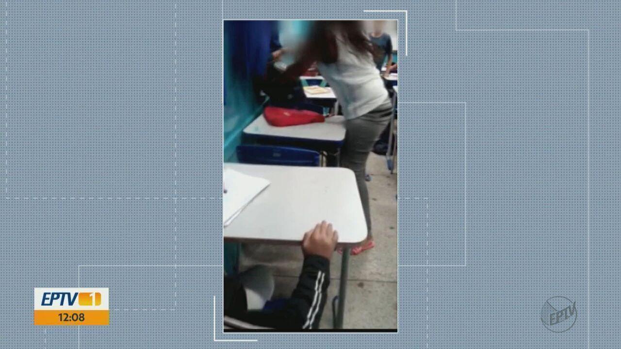 Aluna de 12 anos é agredida dentro da sala de aula em Rincão