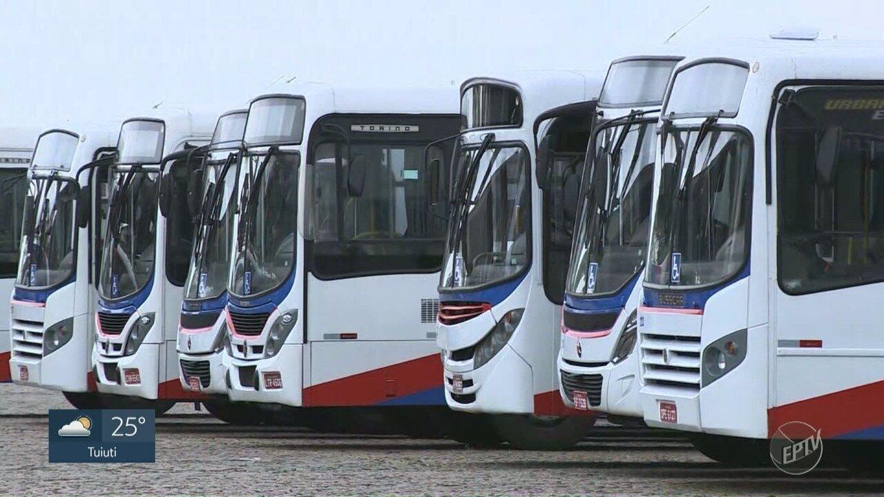 Motoristas de ônibus municipais de Americana fazem segunda paralisação na semana