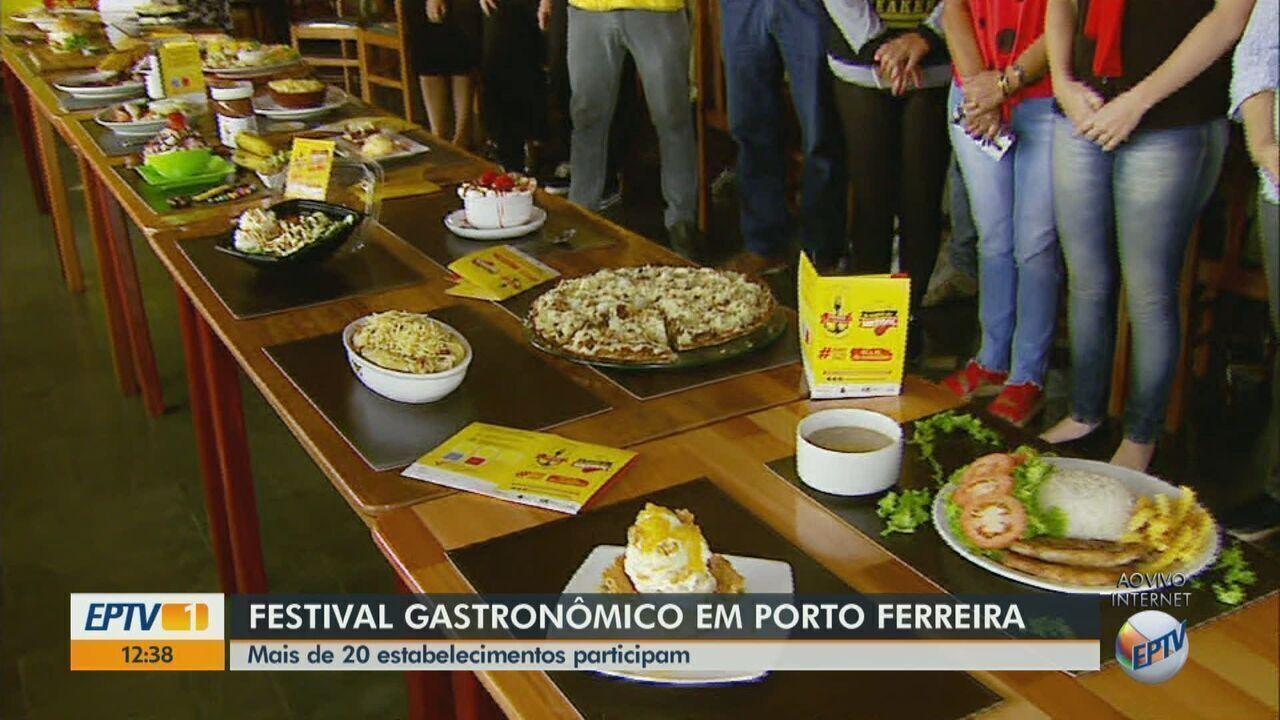 Porto Ferreira realiza 1ª edição do Festival Gastronômico