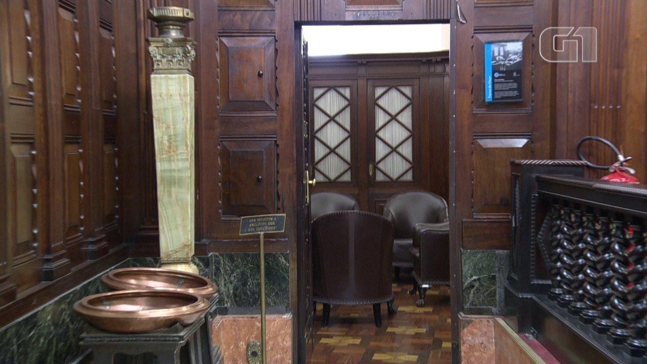 Conheça a sala Furna da Onça, que deu nome à operação com deputados presos no RJ
