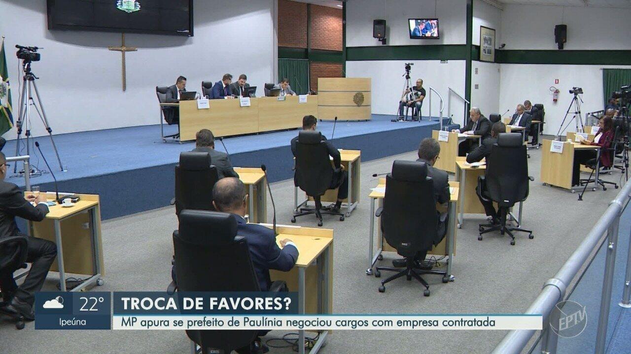 MP investiga supostas irregularidades em contratos de Paulínia